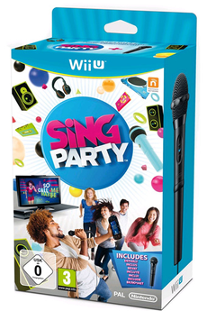 Jeux Wii U Nintendo SING PARTY + MICRO