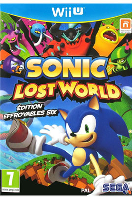 SONIC : LOST WORLD - EDITIONS EFFROYABLES SIX