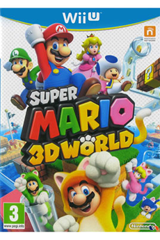 Jeux Wii U SUPER MARIO 3D WORLD Nintendo