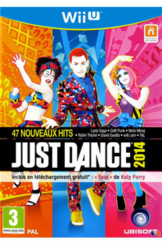 Jeux Wii U JUST DANCE 2014 Ubisoft