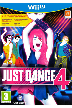 Jeux Wii U JUST DANCE 4 Ubisoft