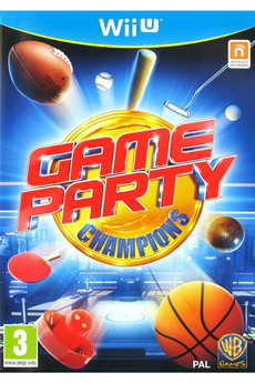 Jeux Wii U GAME PARTY CHAMPIONS Warner