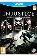 Jeux Wii U Warner INJUSTICE