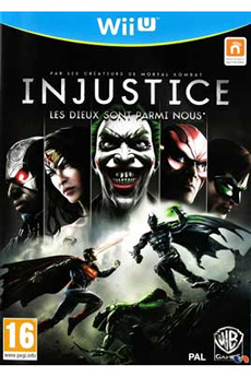 Jeux Wii U INJUSTICE Warner