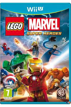Jeux Wii U LEGO MARVEL : SUPER HEROES Warner