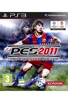 Jeux PS3 PES 2011 Konami