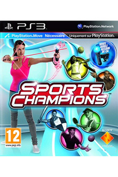 Jeux PS3 SPORTS CHAMPIONS MOVE Sony