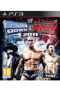 Jeux PS3 Thq WWE SMACK DOWN VS RAW 2011