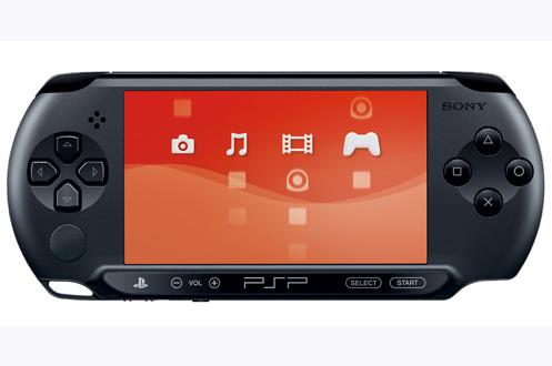 Sony PlayStation Portable E1008 Black + Cars 2.