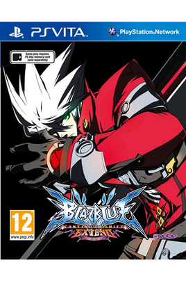 Jeux PS Vita BLAZBLUE CONTINUUM SHIF Kochmedia