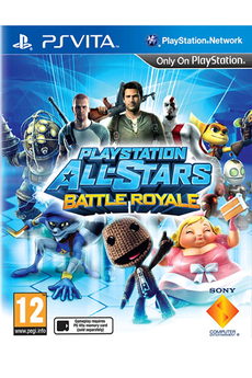 Jeux PS Vita PLAYSTATION ALL-STARS:BATTLE ROYALE Sony