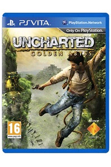 Jeux PS Vita UNCHARTED : GOLDEN ABYSS Sony