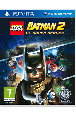 Jeux PS Vita Warner LEGO BATMAN 2 : DC SUPER HEROES