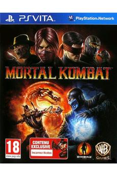Jeux PS Vita MORTAL KOMBAT Warner