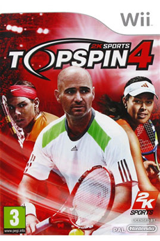 Jeux Wii TOP SPIN 4 2k Sports
