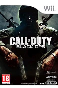 Jeux Wii CALL OF DUTY 7 BLACK OPS Activision
