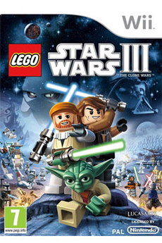 Jeux Wii LEGO STAR WARS 3-THE CLONE WARS Activision