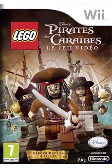 Jeux Wii LEGO PIRATES DES CARAÏBES Disney