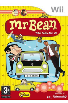 Jeux Wii MR BEAN Kochmedia
