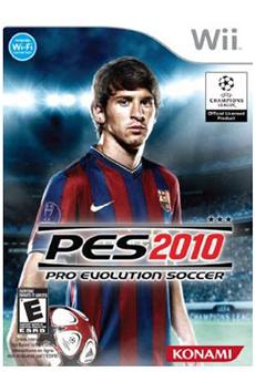 Jeux Wii PES 2010 Konami