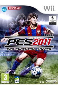 Jeux Wii PES 2011 Konami