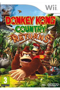 Jeux Wii DONKEY KONG COUNTRY Nintendo
