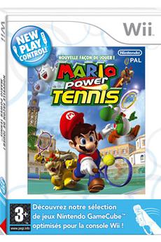 Jeux Wii MARIO POWER TENNIS WII Nintendo