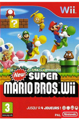 Nintendo NEW SUPER MARIO WII