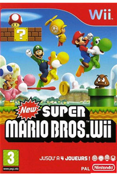 Jeux Wii NEW SUPER MARIO WII Nintendo