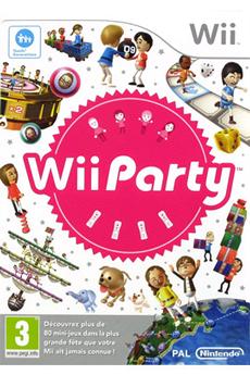 Jeu Nintendo Wii - Wii party (seul)