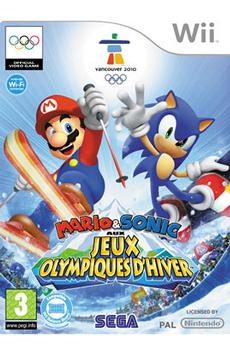 Jeux Wii MARIO&SONIC JO HIVER Sega