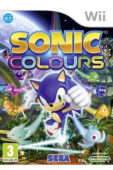 Jeux Wii SONIC COLOURS Sega