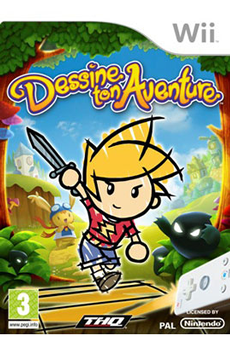 Jeux Wii DESSINE AVENTURE Thq