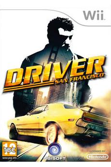 Jeux Wii DRIVER-SAN FRANCISCO Ubisoft