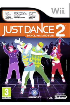 Jeux Wii JUST DANCE 2 Ubisoft