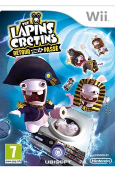 Jeux Wii LAPIN CRETIN RETOUR VERS LE PASSE Ubisoft
