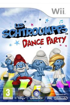Jeux Wii LES SCHTROUMPFS- DANCE PARTY Ubisoft
