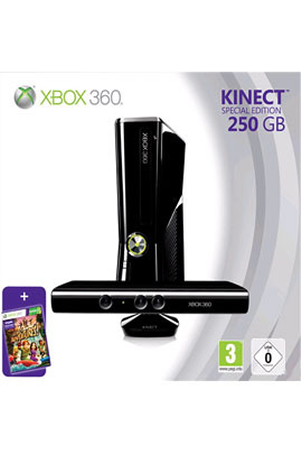 consoles xbox 360 microsoft xbox 250 go kinect kinect. Black Bedroom Furniture Sets. Home Design Ideas