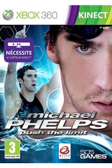Jeux Xbox 360 Digital Bros MICHAEL PHELPS : PUSH THE LIMIT