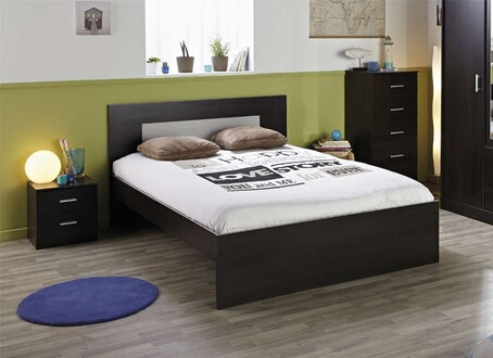 tout le choix darty en lit de 2 places darty. Black Bedroom Furniture Sets. Home Design Ideas