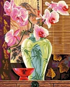 Peinture et dessin OZ INTERNATIONAL PEINTURE AU NUMERO - MAXI : ORCHIDEES