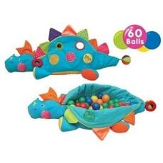 Tapis de jeu et tapis de sol K's Kids D'ARPEJE GRAND DINO D'ACTIVITE + 60 BALLES KA10445