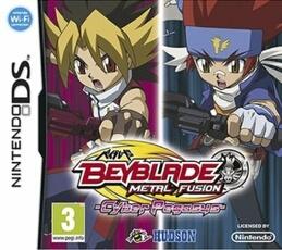 Jeu Nintendo DS - Beyblade métal fusion + toupie
