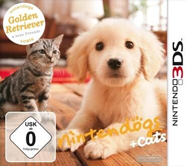 GS + CATS GOLDEN RETRIEVER & SES NOUVEAUX AMIS [JEU 3DS]