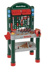 Jeux d'imitation KLEIN Mini Etabli Work Shop Enfant - Bosch