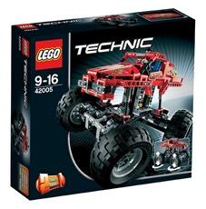 Monde imaginaire Lego Monster Truck Lego Technic