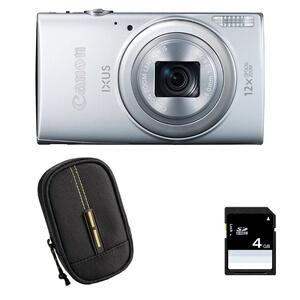 Canon - Compact IXUS 265 HS ARGENT + Etui SD 4 Go Appareil ... 7db2118acfb6