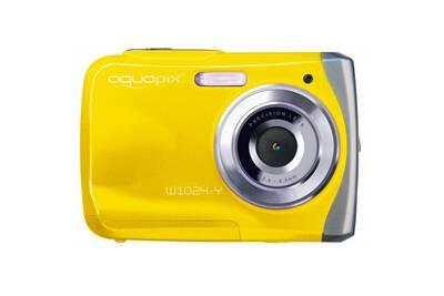 appareil photo compact easypix aquapix w1024 jaune splash tanche 3m darty. Black Bedroom Furniture Sets. Home Design Ideas