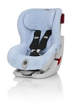 Accessoires pour la voiture ROMER Housse d'été bleu ciel pour siège-auto King II LS/ATS