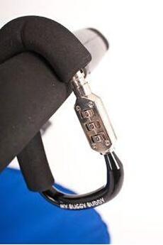 Accessoire poussette Prince Lionheart Mousqueton cadenassé pour poussette MyBuggyBuddy